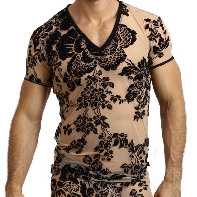 T-Shirt L' Homme Invisible MY73 Velours et Luxure