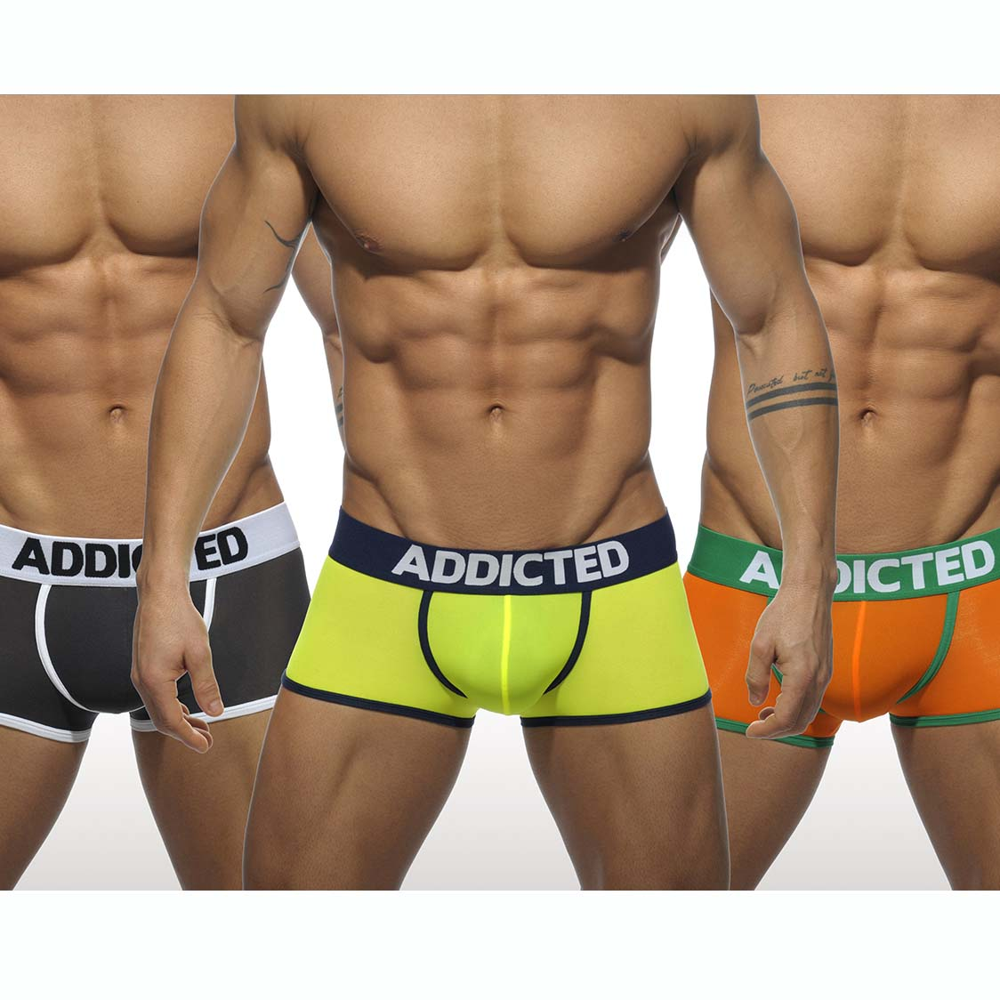 Pack de Boxers Addicted AD403P