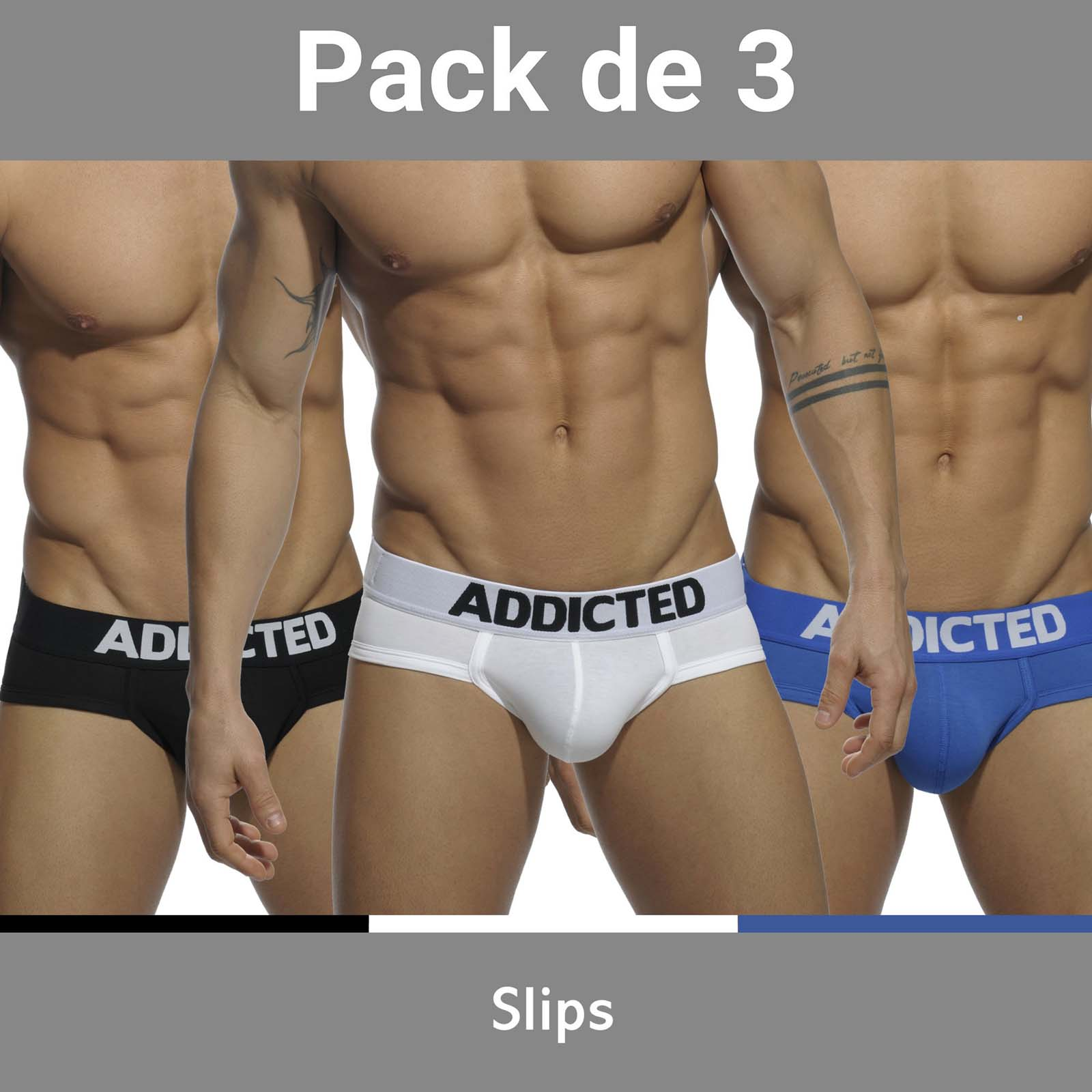 Pack of Briefs Addicted AD420P