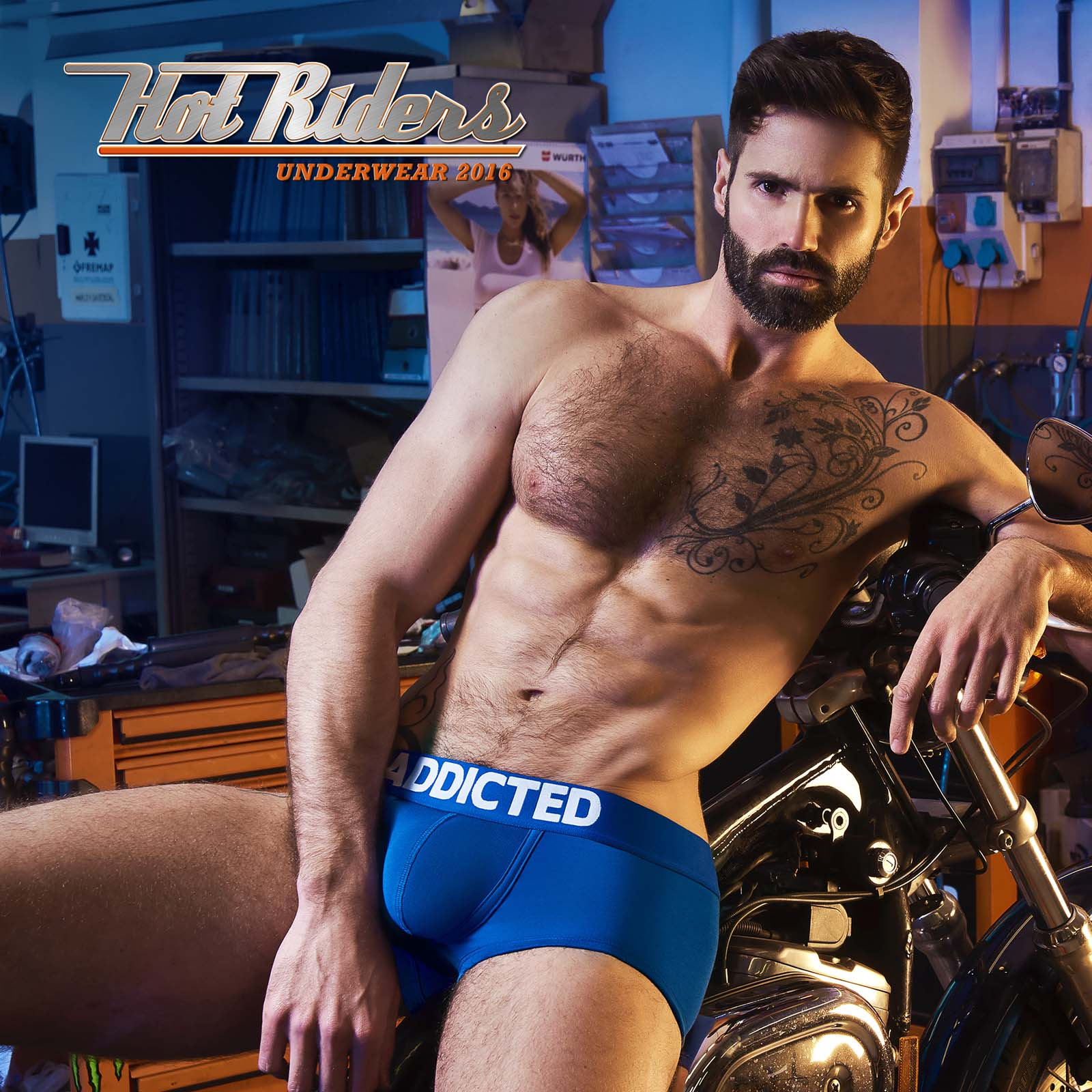 Pack of Boxers Briefs Addicted AD421P
