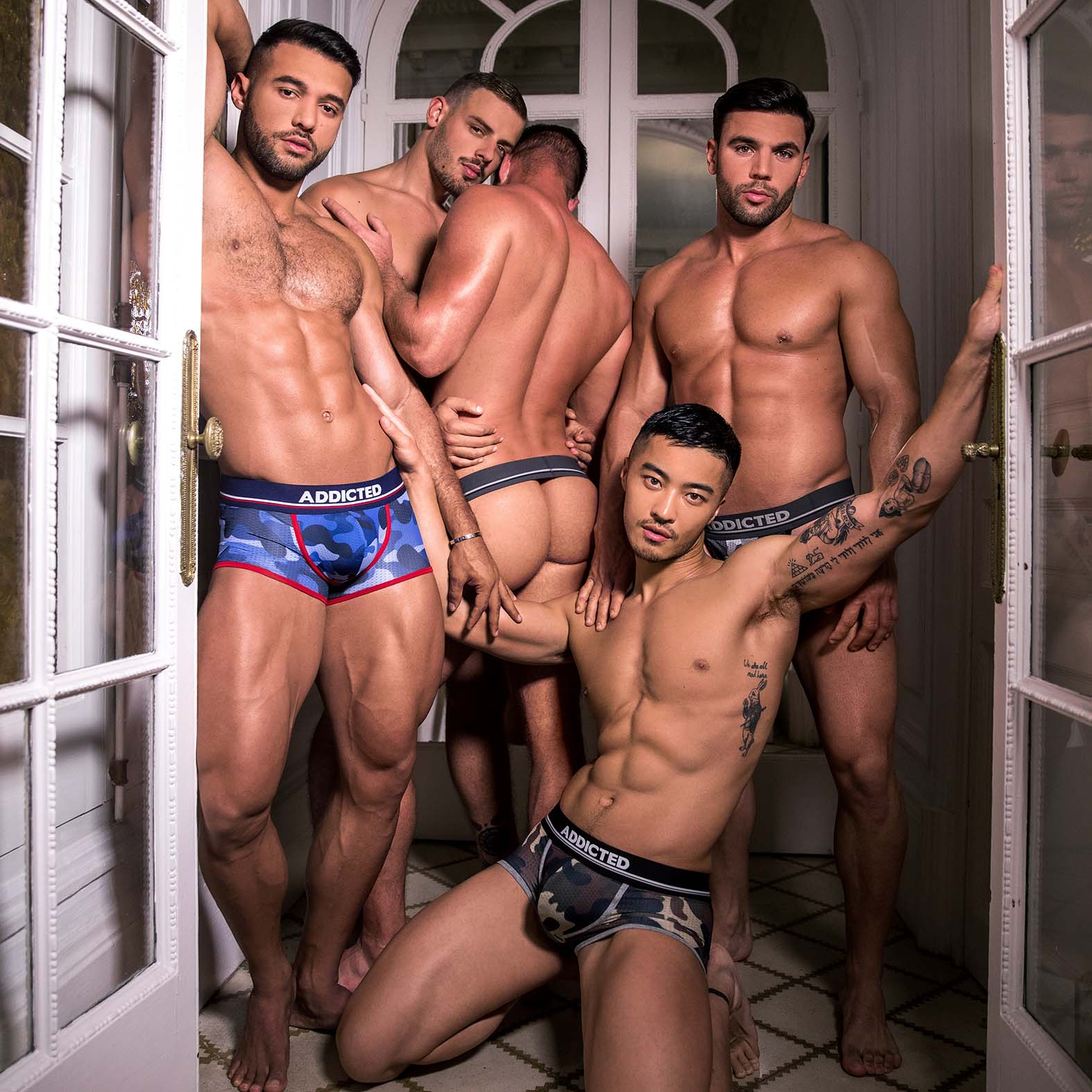 Pack of Boxers Addicted AD698P