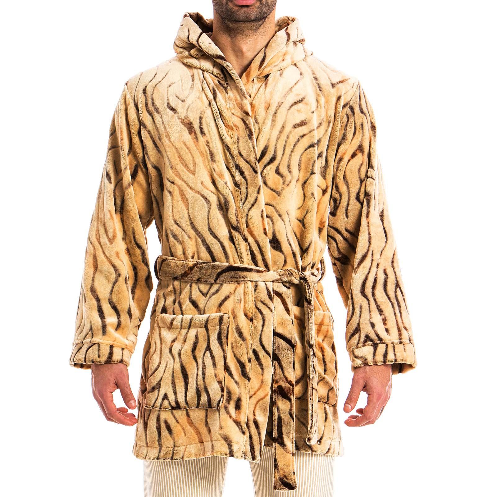 Peignoir Court Modus Vivendi Tiger 15852