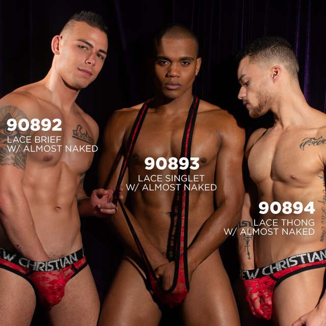 Harnais Andrew Christian lace 90893