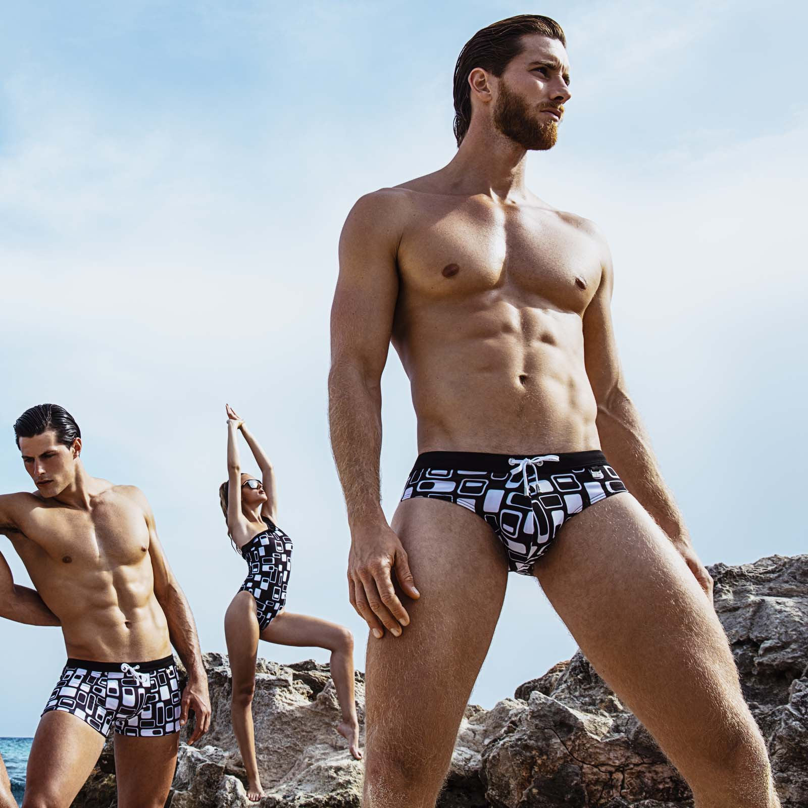 Swim Brief ES Collection Retro 1901