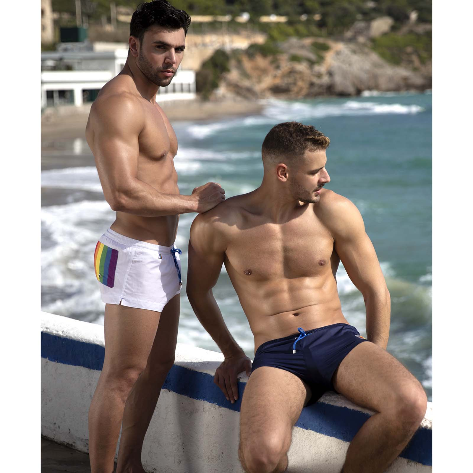 Swim Short Addicted Rainbow ADS197