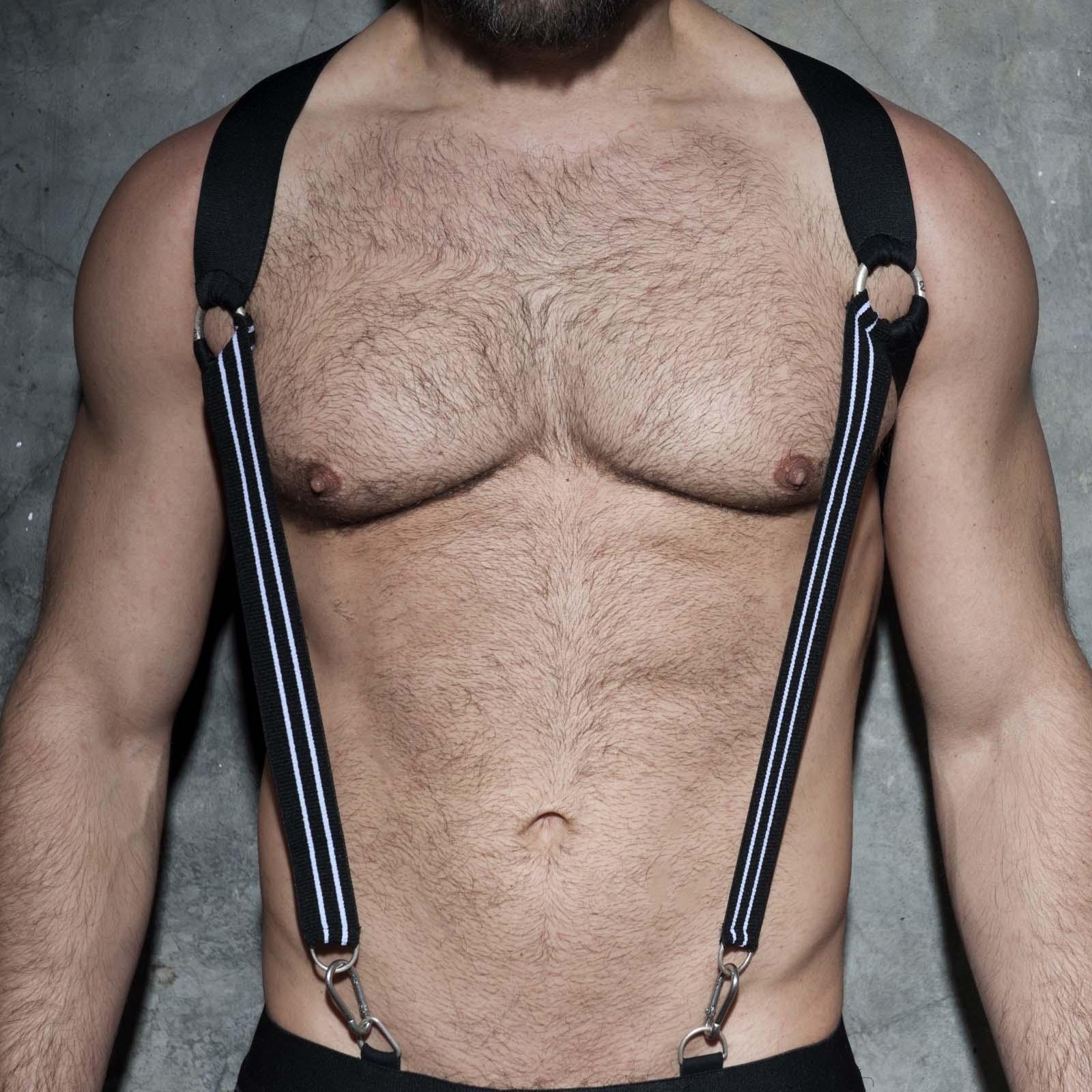 Elastic suspenders AD Fetish ADF85