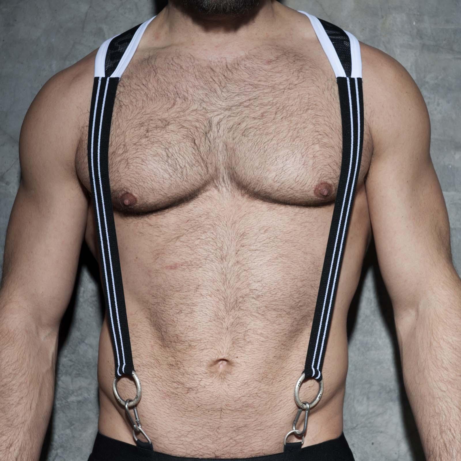Elastic suspenders AD Fetish ADF86