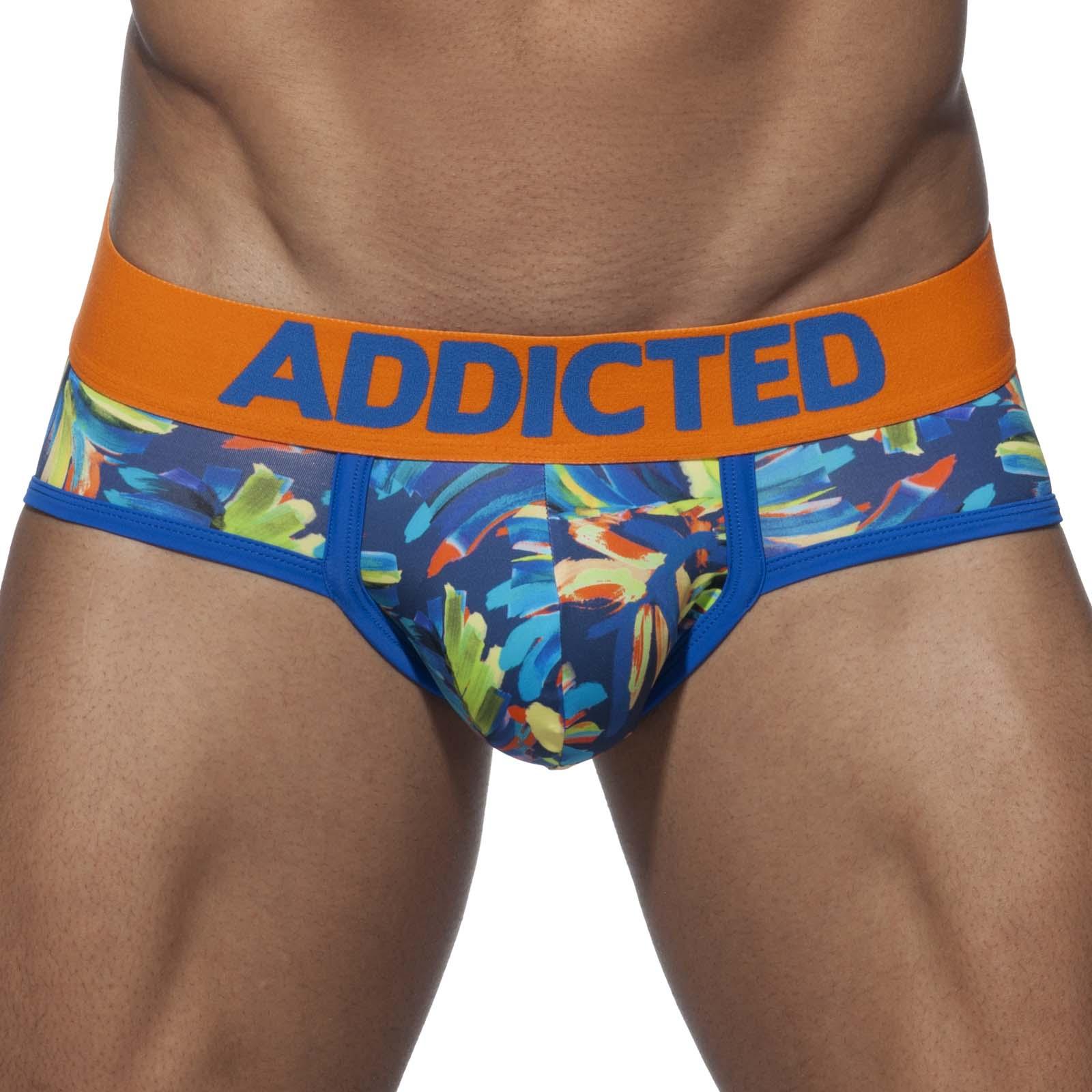 Brief swimderwear Addicted Flowery AD705
