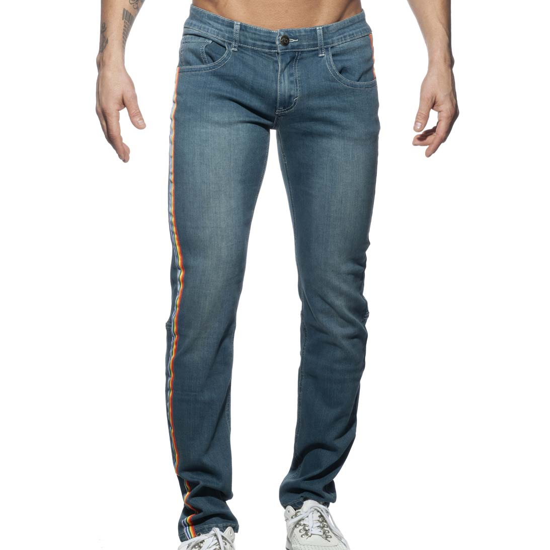 Jean Addicted Rainbow AD747