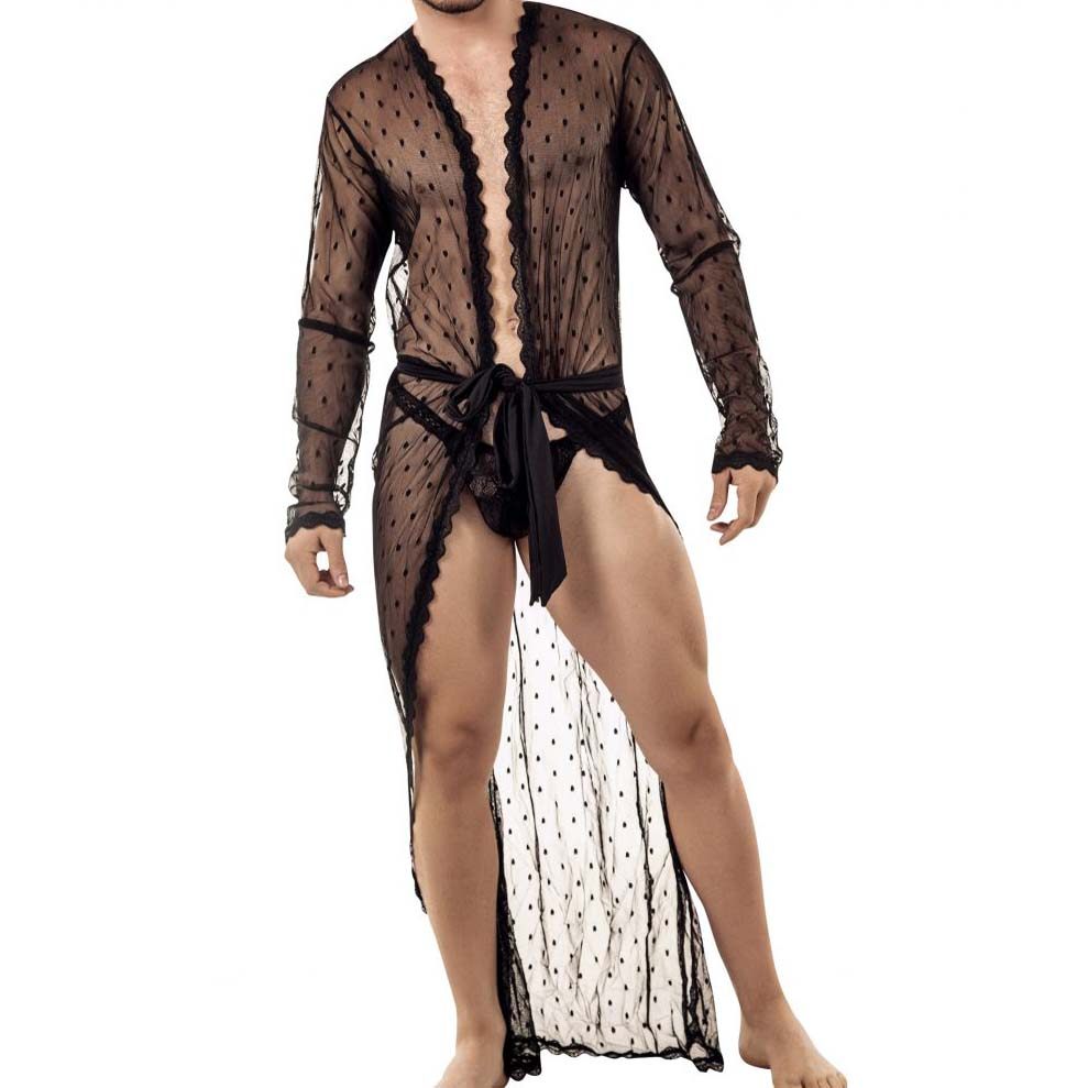 Candyman in men clothing, lingerie
