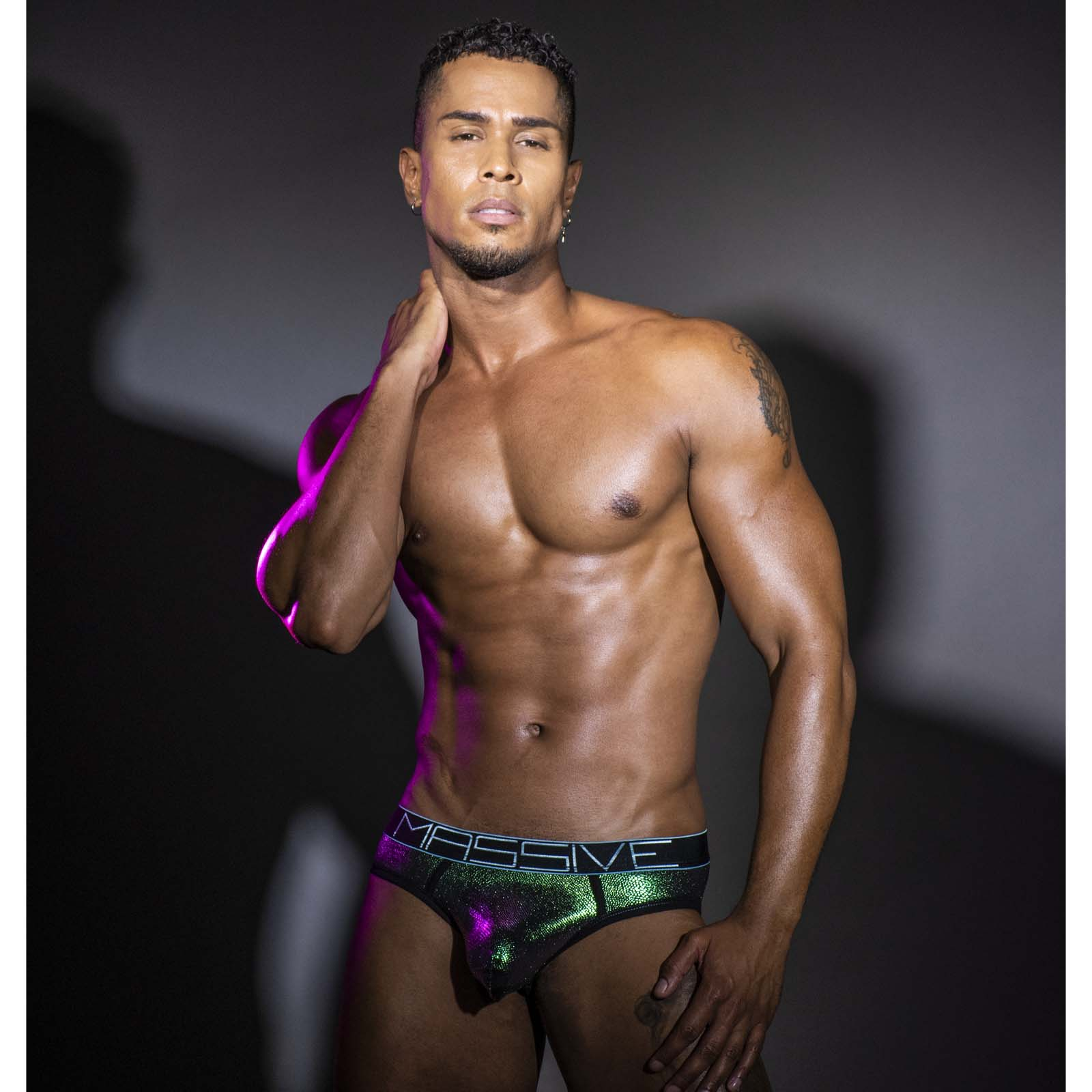 Brief Andrew Christian Anaconda Eclipse 91278