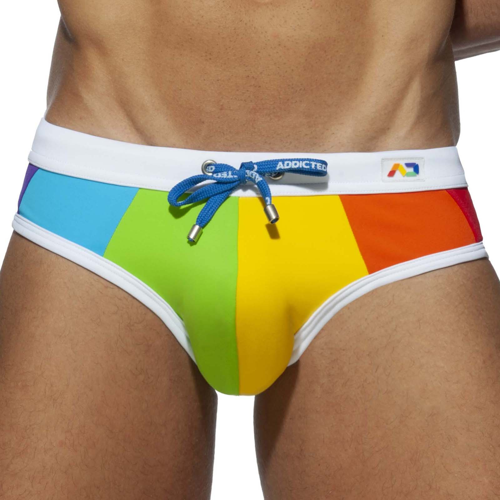 Swim Brief Addicted Rainbow ADS238
