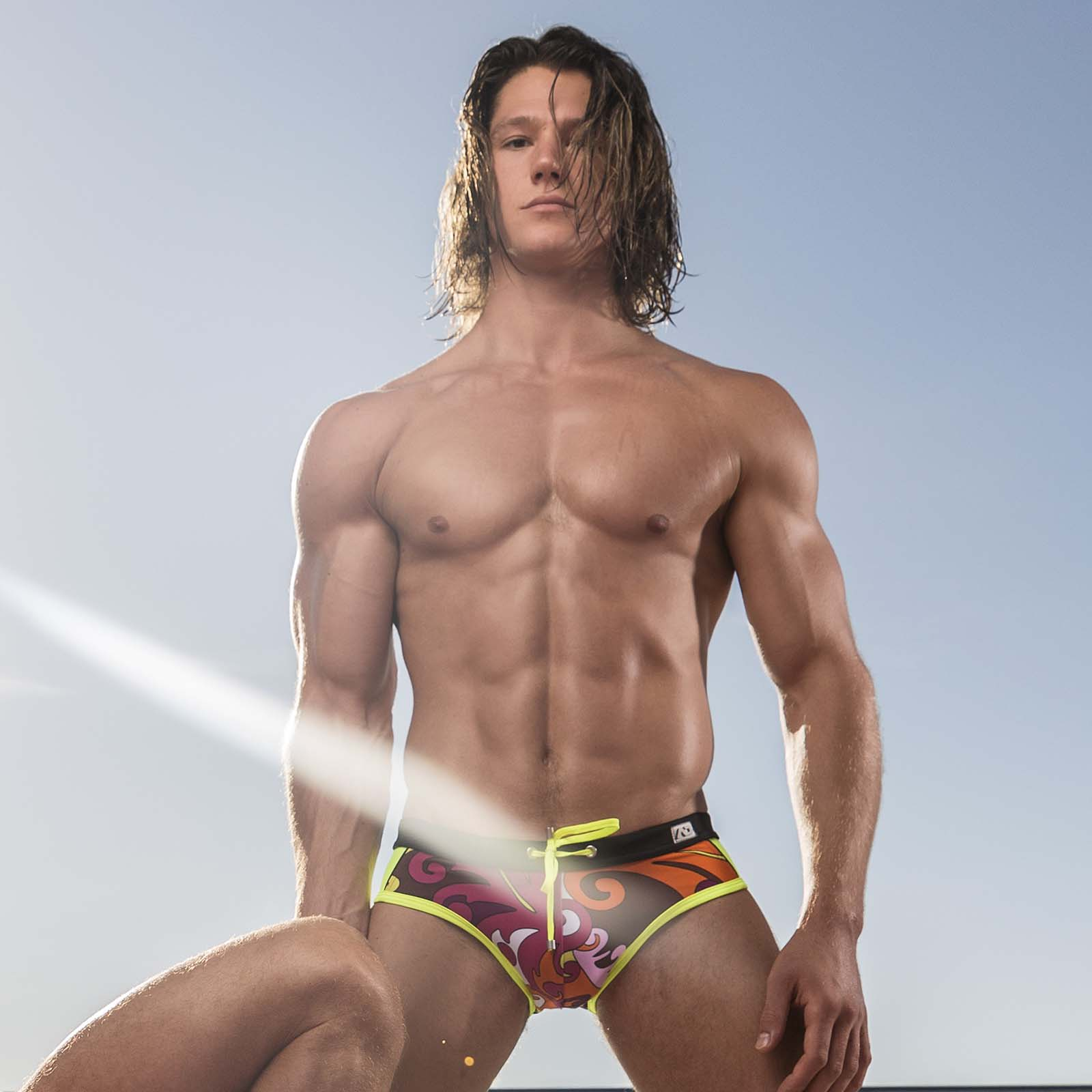 Swim Brief Addicted Drunk ADS229
