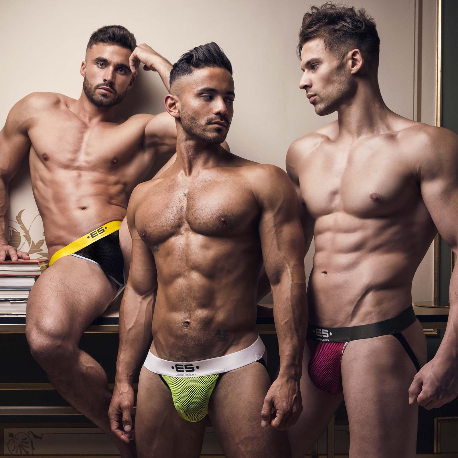 Jockstrap ES Collection Mesh Combi UN394