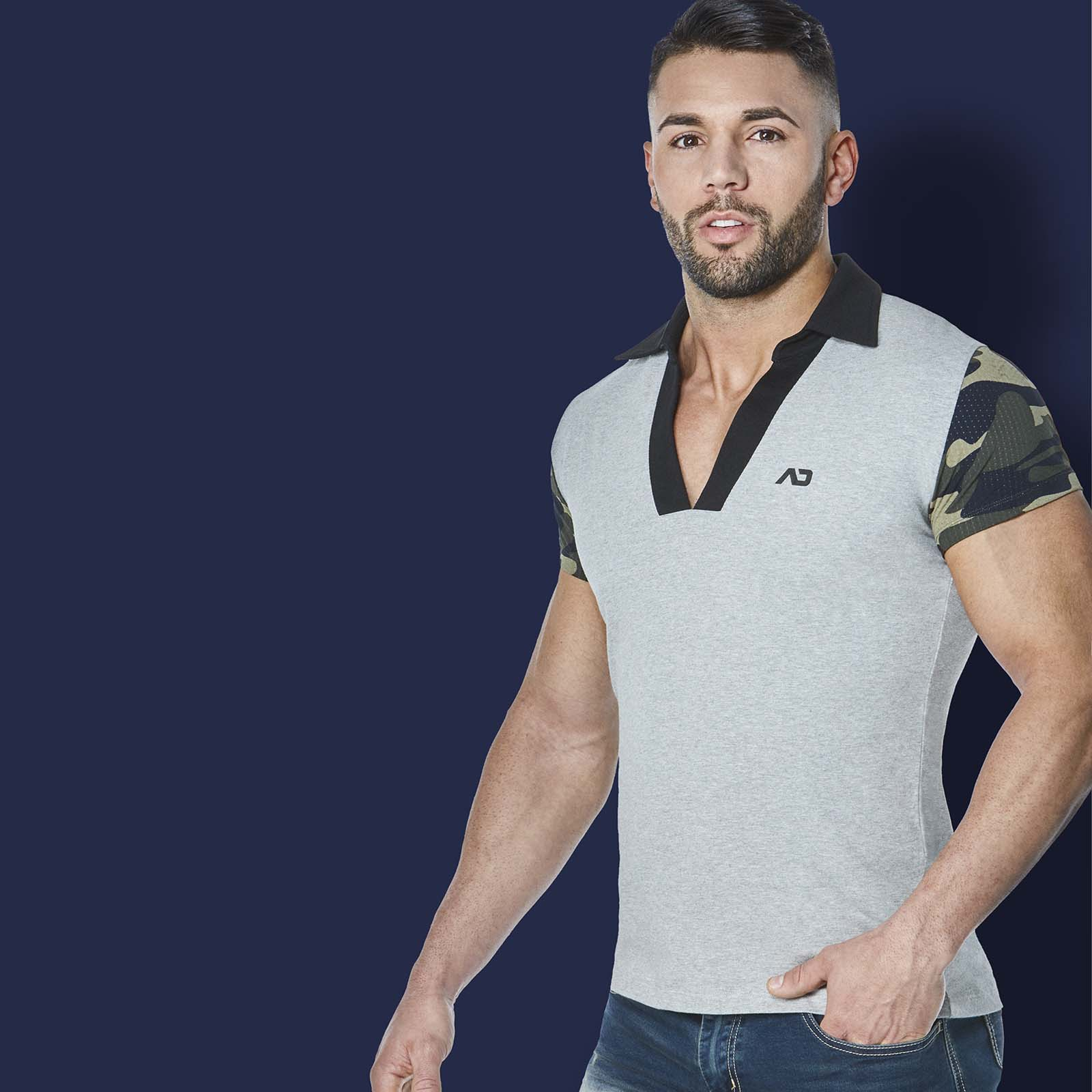 T-Shirt Addicted Camouflage AD527