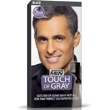 Hair Coloring Touch of grey black 40g