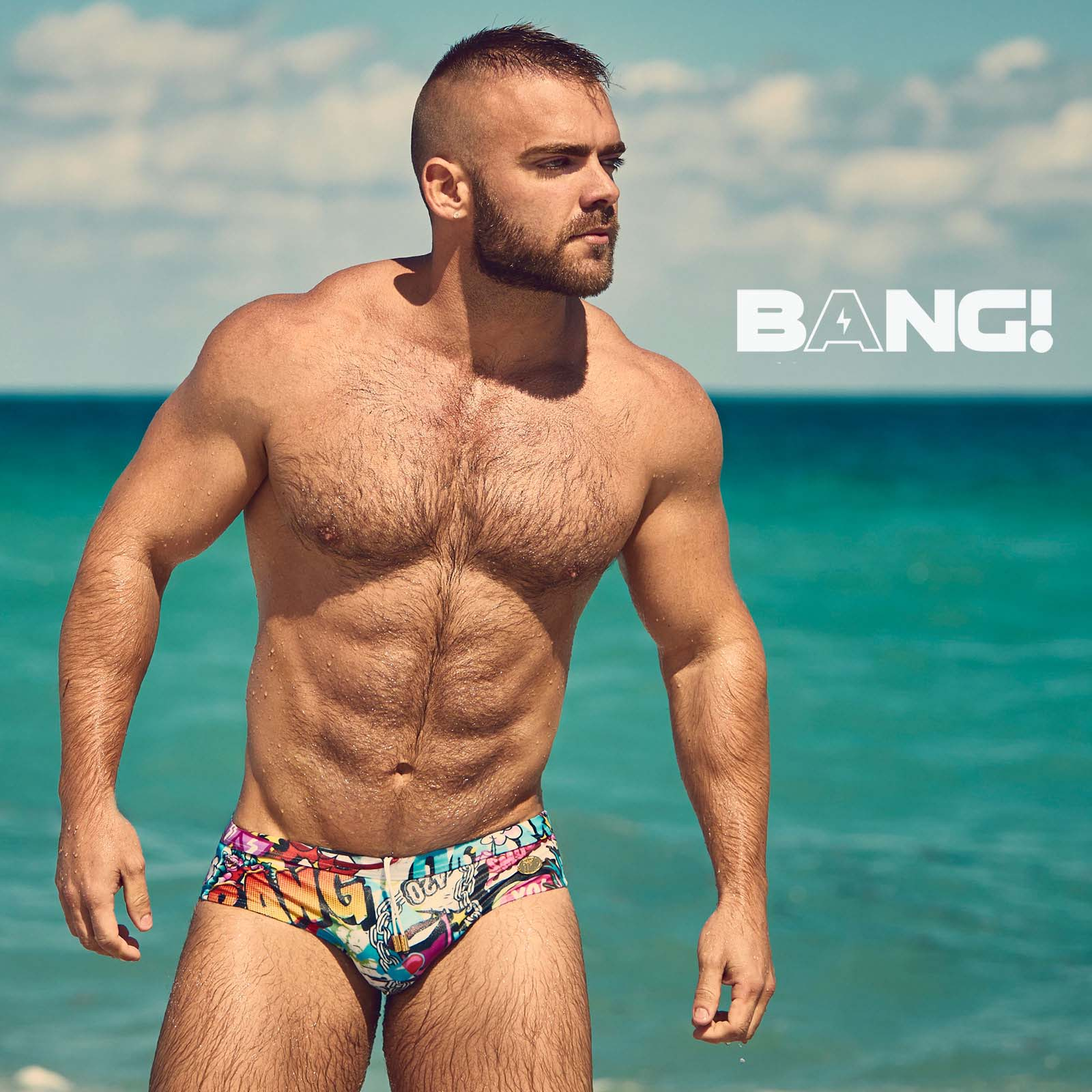 Slip de bain BANG! Bang reloaded 50201