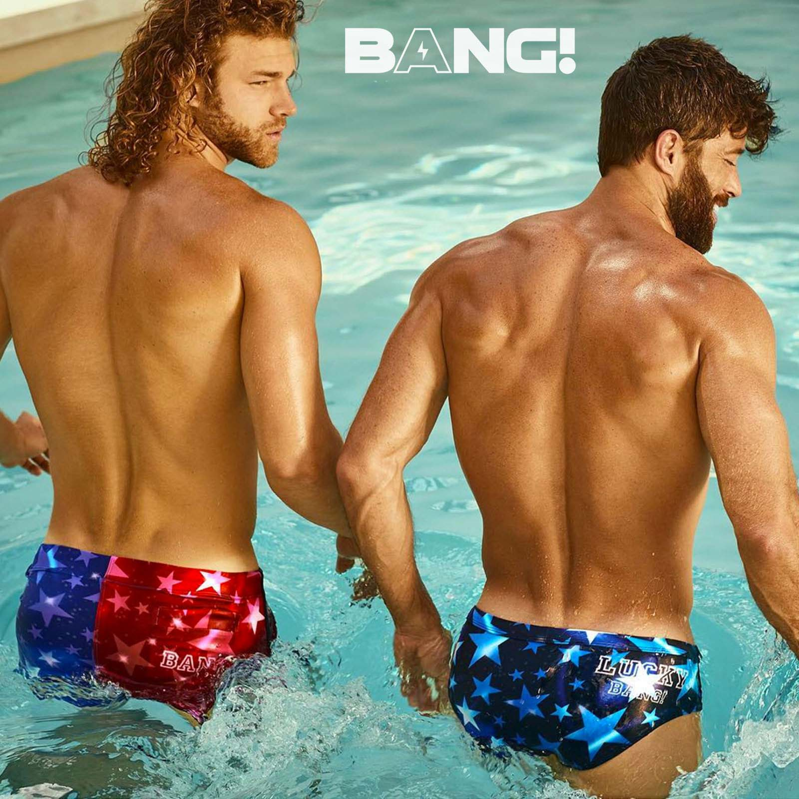 Short de bain BANG! Superstar 54212
