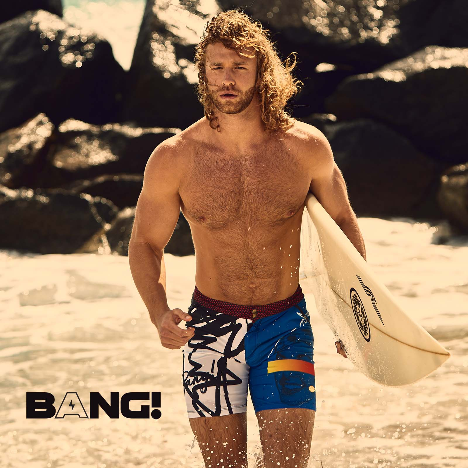 Short de bain long BANG! New Wave 56222
