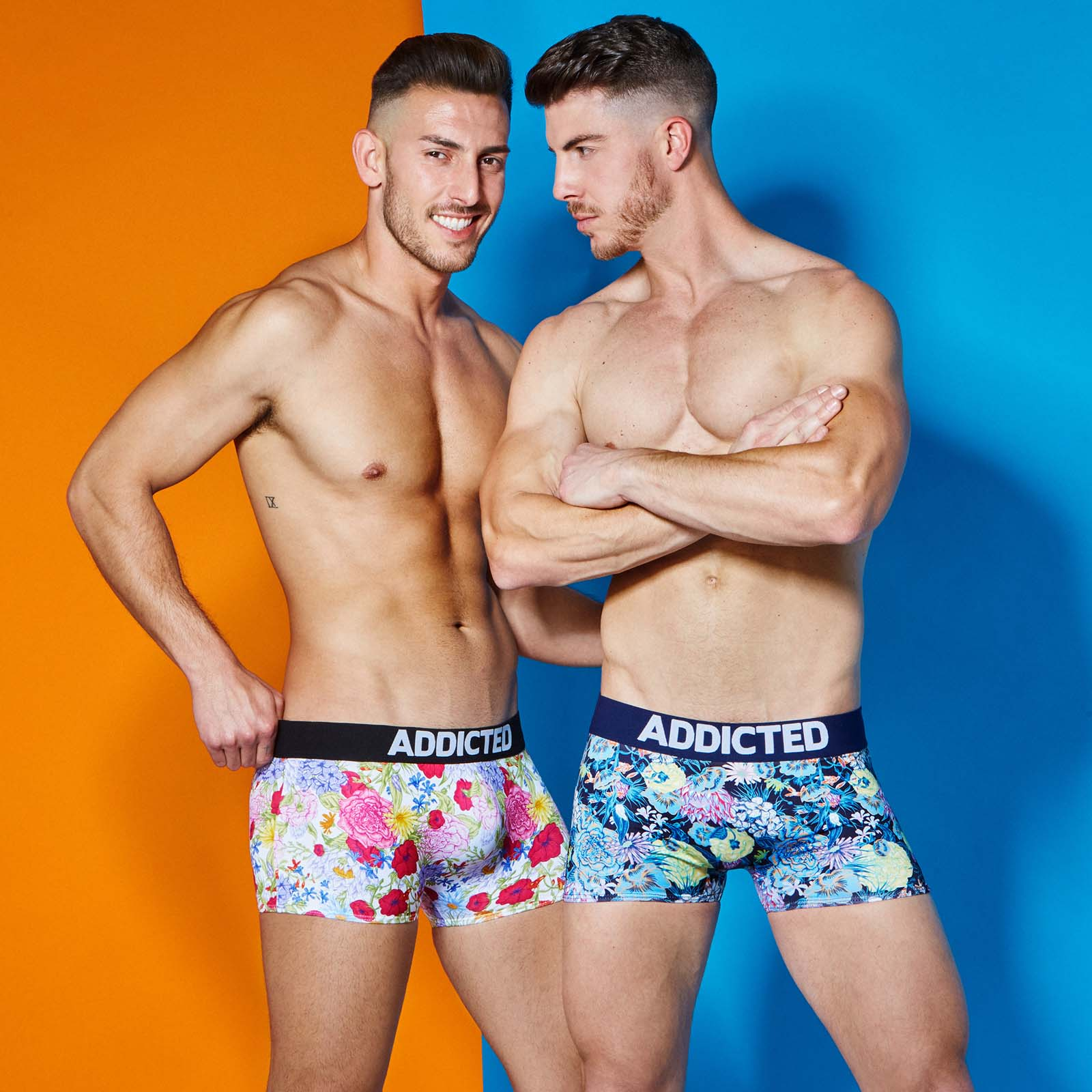 Boxer Long Addicted Floral AD517