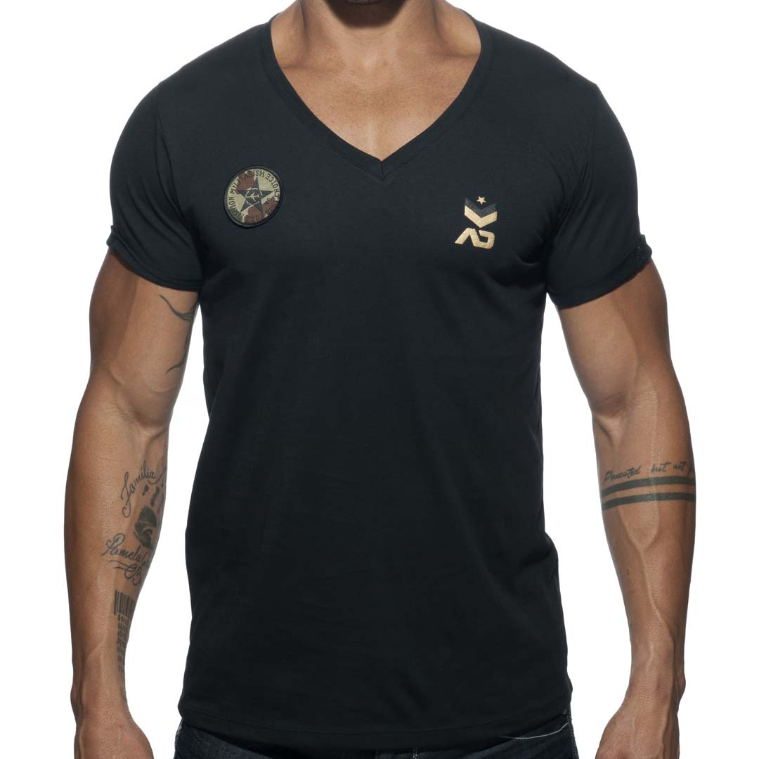 T-Shirt Addicted Military AD610