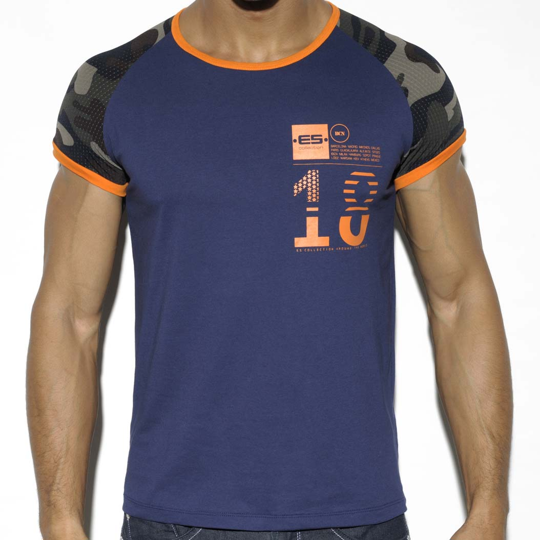 T-Shirt ES Collection Camo Rangla TS201