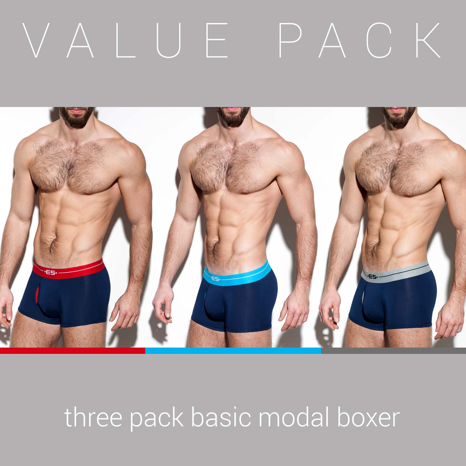 Pack de Boxers ES Collection UN249P