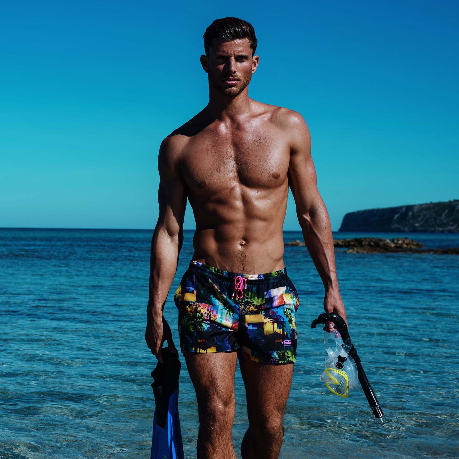 Swim Short ES Collection Forest Glitch 1823
