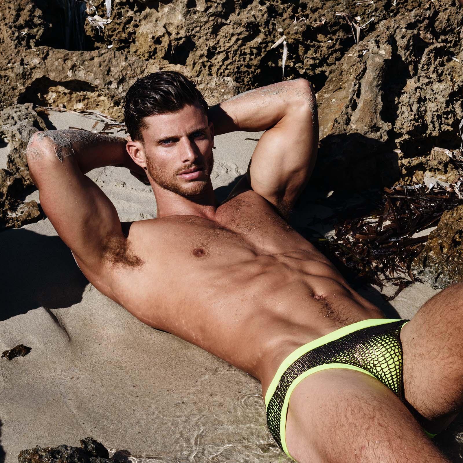 Swim Brief ES Collection Scott Net 1828