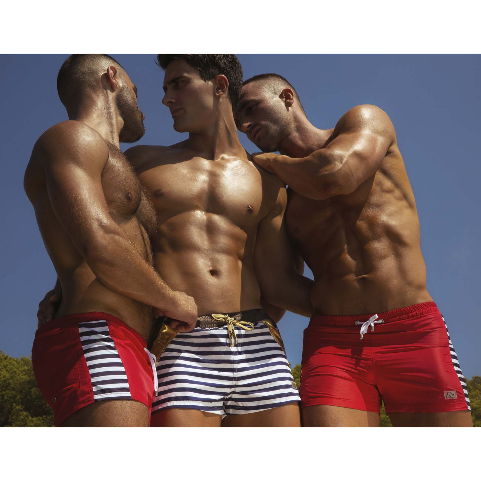 Swim Short Addicted Sailor Stripes ADS177