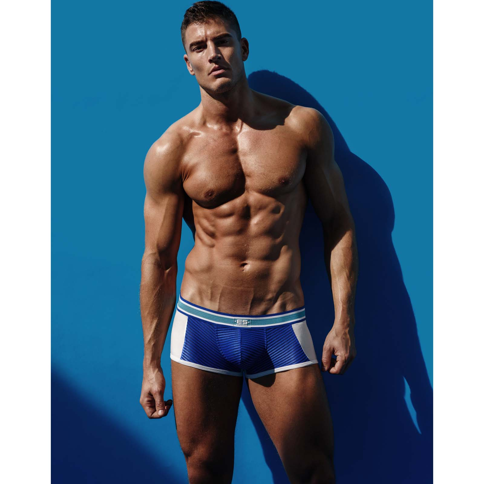 Boxer Es Collection Stripe Combi UN246