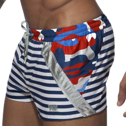 Short de Bain Addicted Sailor Metal ADS170