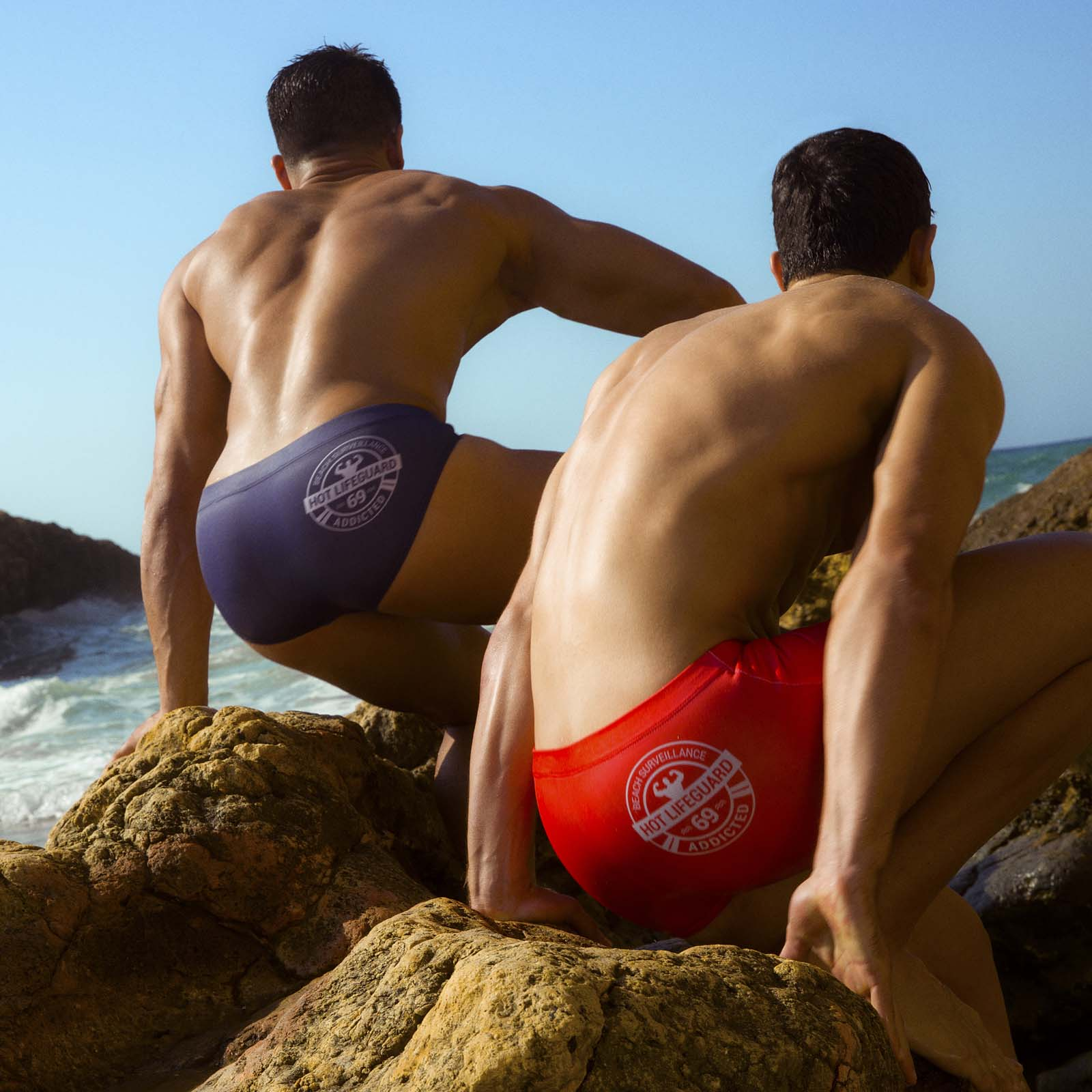 Swim Brief Addicted Lifeguard ADS158