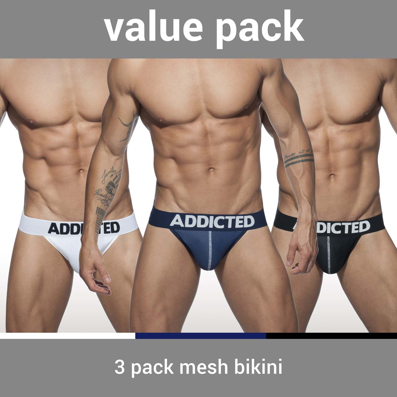 Pack of Bikinis Addicted AD679P