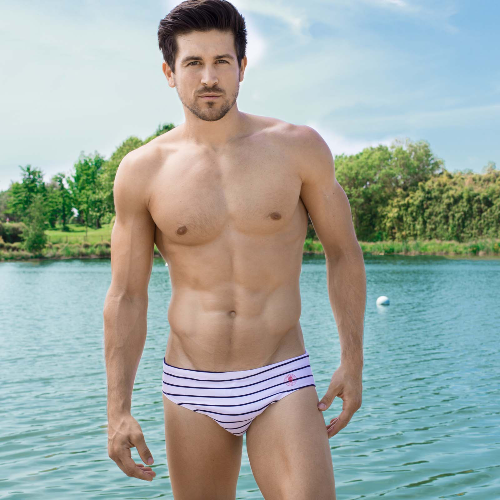 Swim brief L'''Homme Invisible BA224QDB