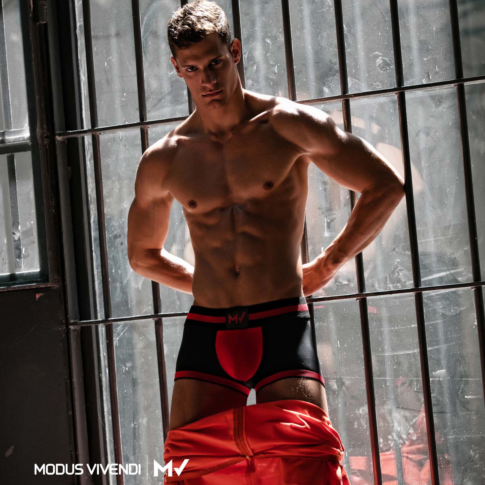 Boxer Empty Bottom Modus Vivendi Fetish 16821