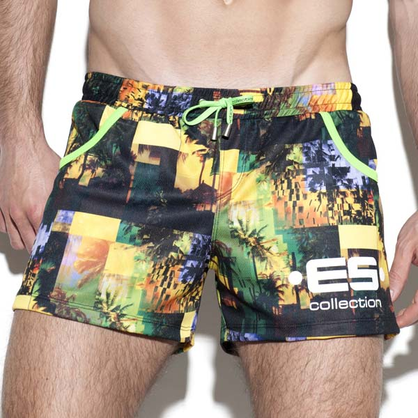 Short ES Collection Palm Glitch SP167