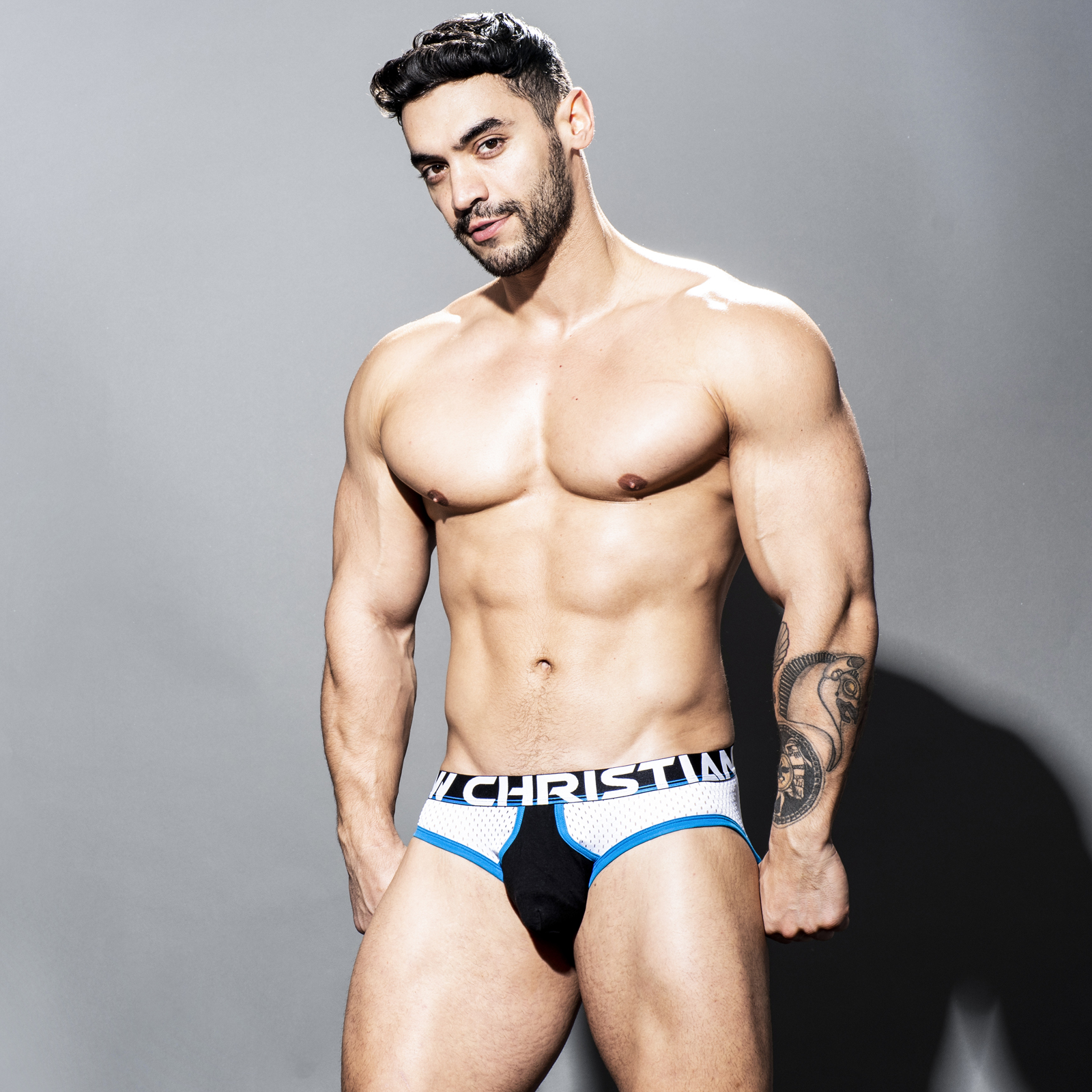 Brief Andrew Christian Almost Naked Retro Mesh 91533