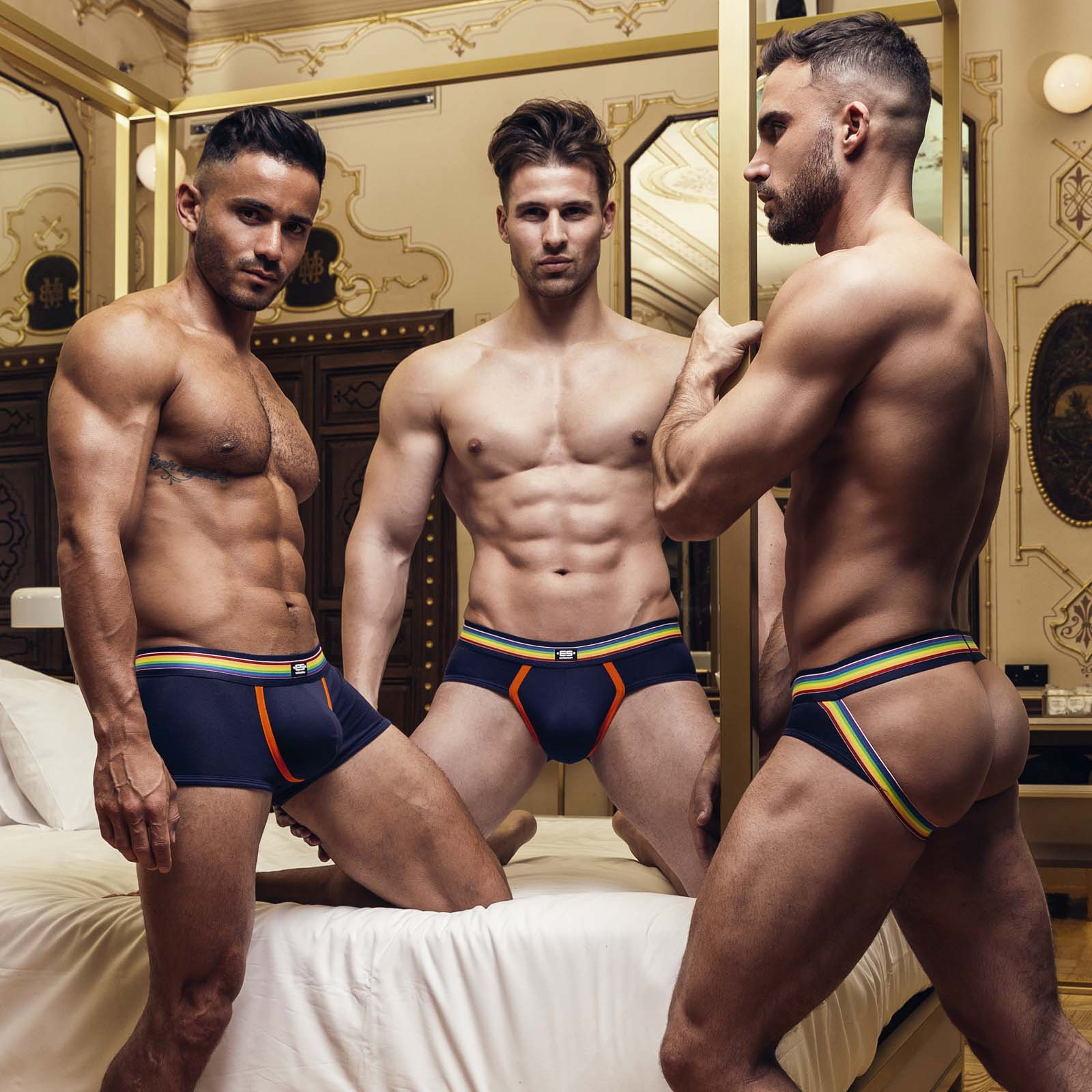 Jock Strap ES Collection Rainbow UN409