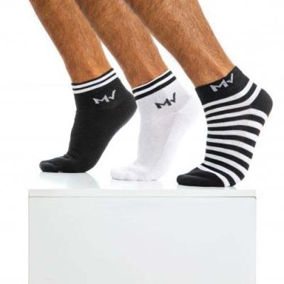Pack de 3 paires de Chaussettes Modus Vivendi XS2010