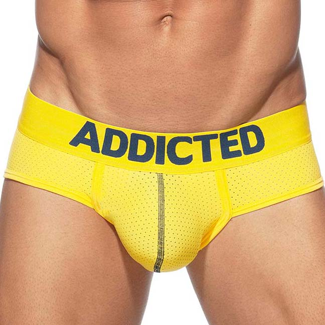 Brief Addicted Push Up Mesh AD805