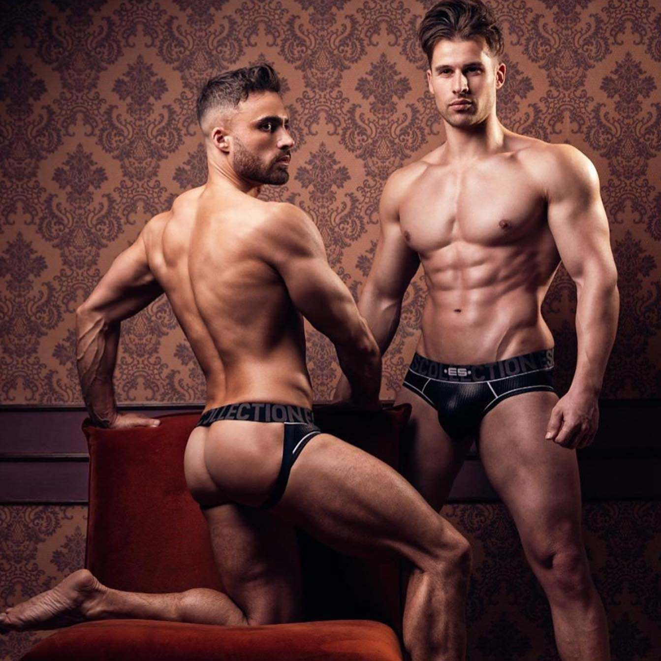 Jock Strap ES Collection Shiny rib UN425