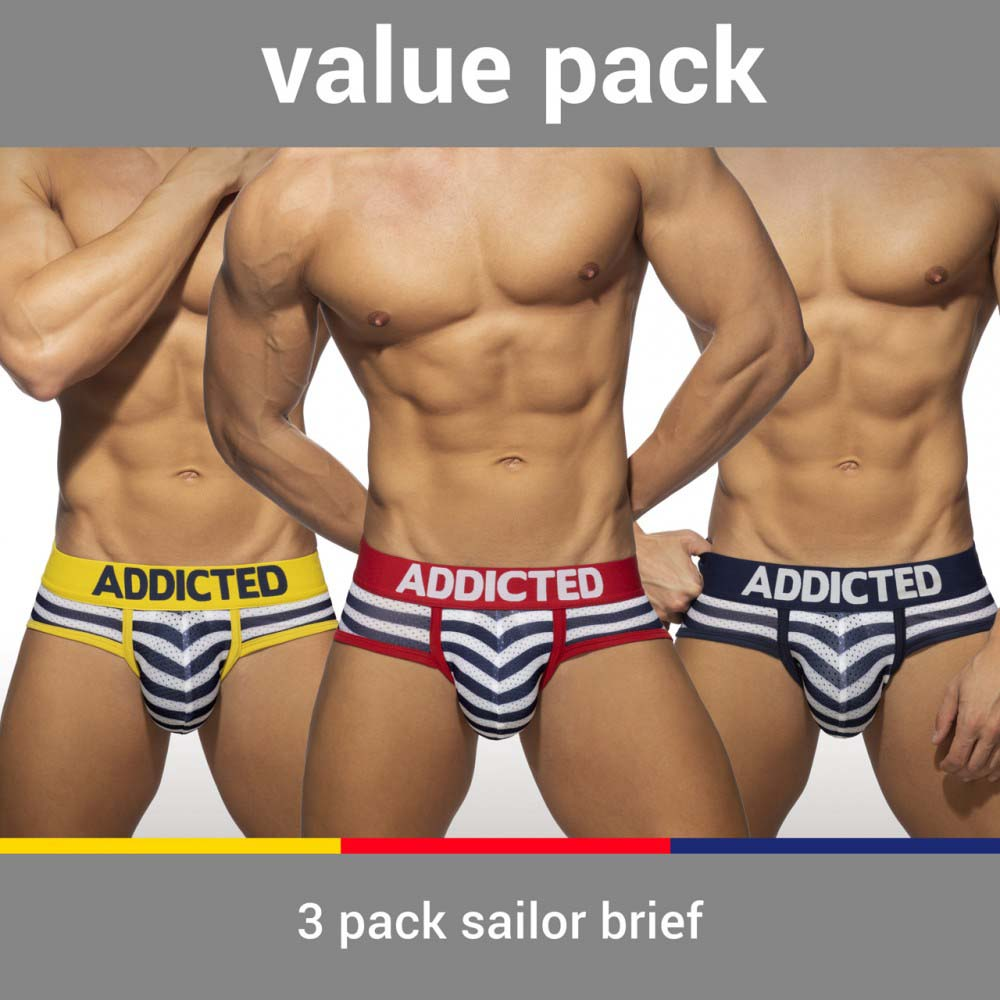 Pack of Briefs Addicted AD964PP