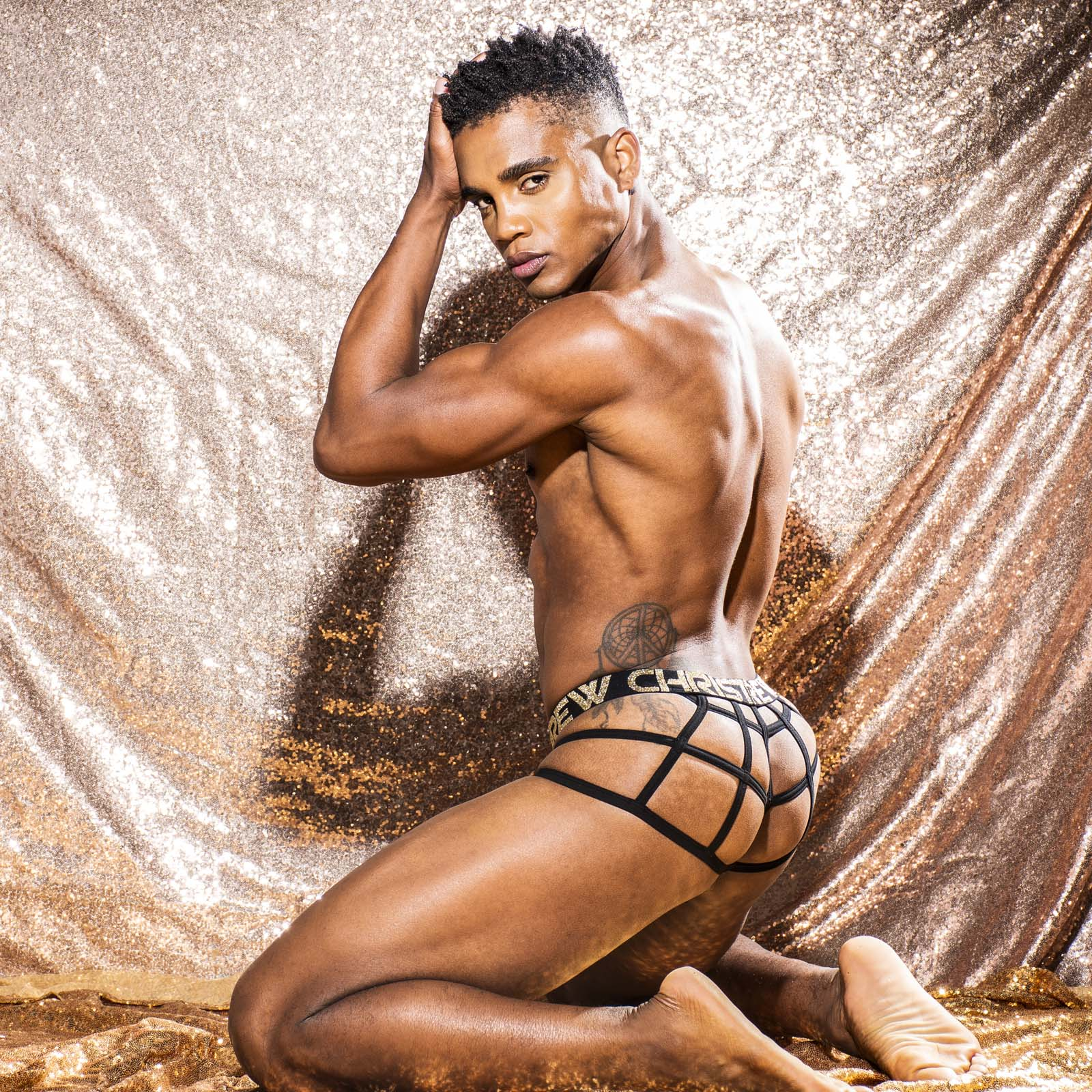 String Andrew Christian Glam Leopard Almost Naked 91915