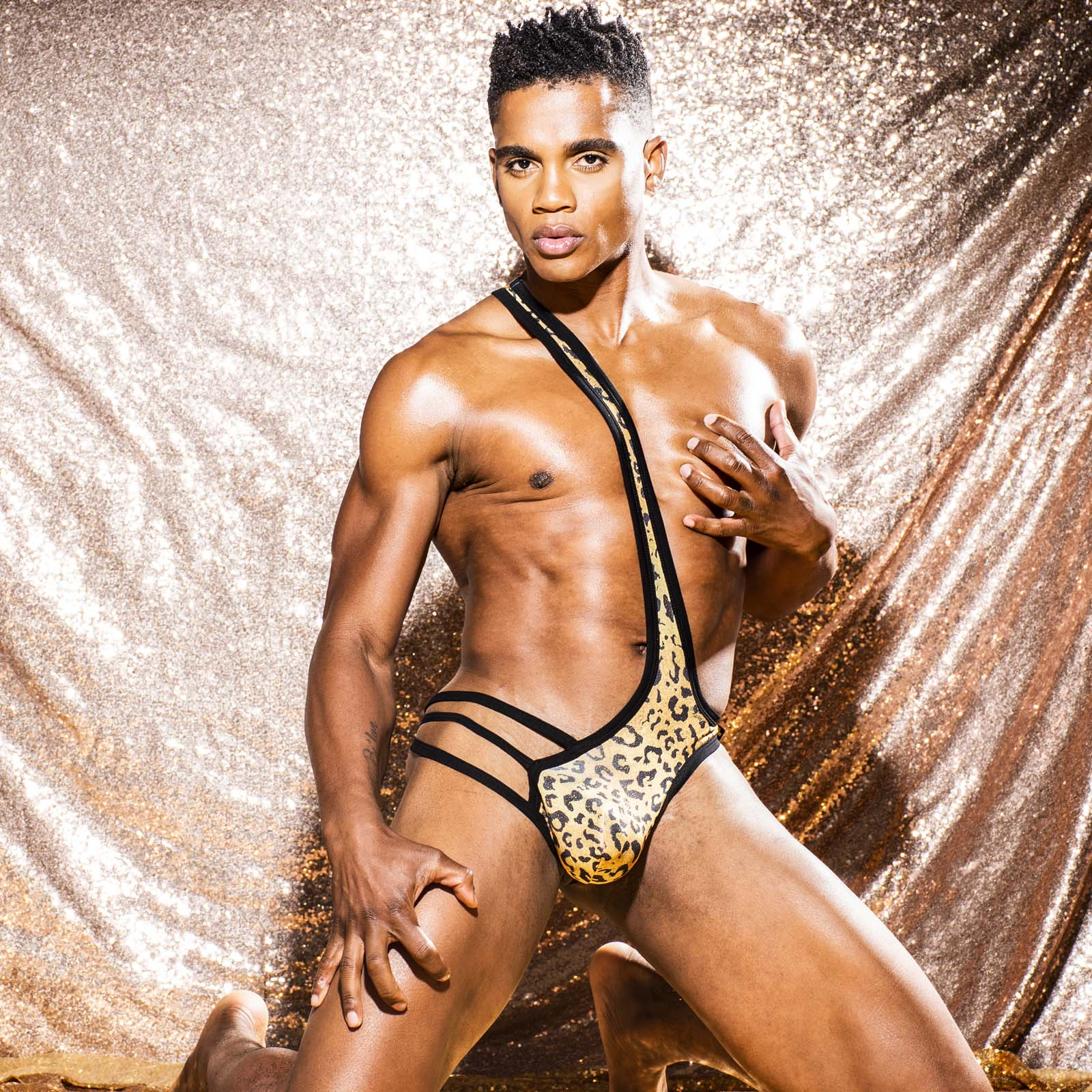 Body Andrew Christian Glam Leopard Almost Naked 91931