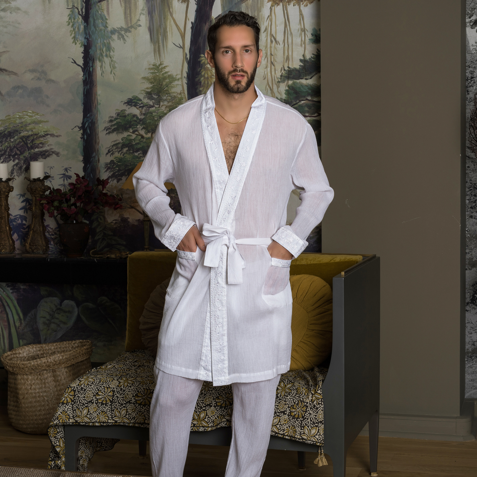 Bathrobe L Homme Invisible Byaar HW140BYA