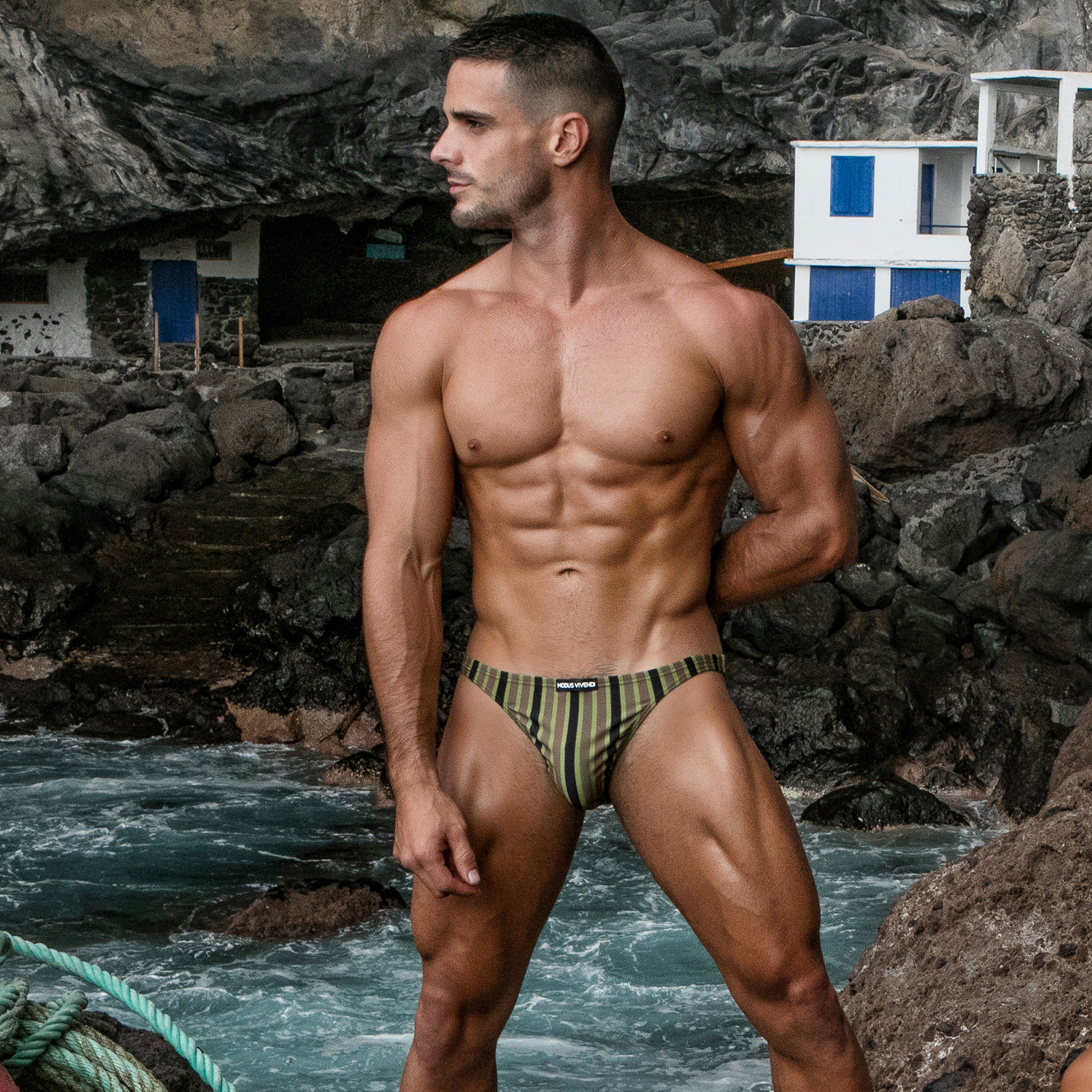 SwimBrief Modus Vivendi Trapped Camo BS2111