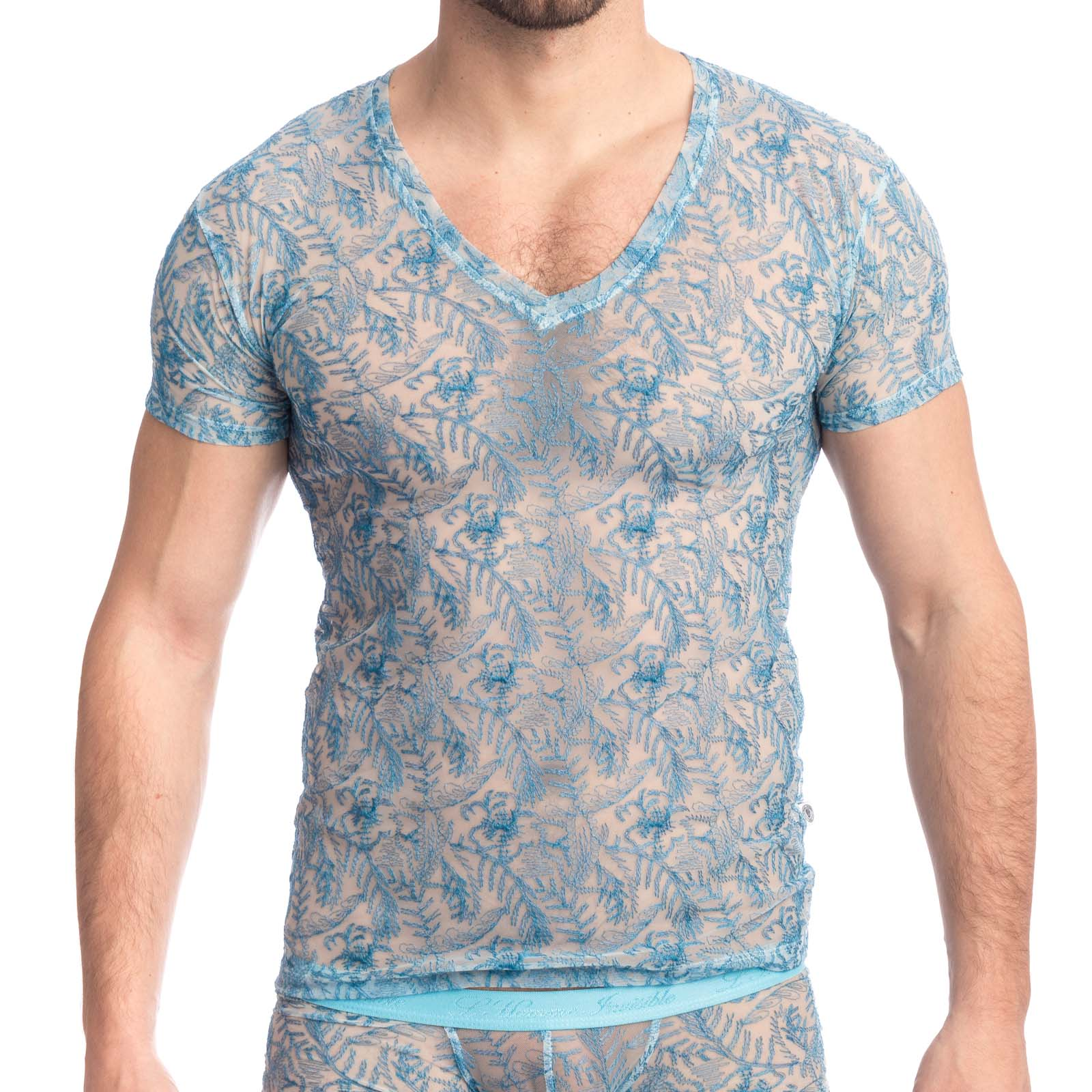 T-Shirt L Homme Invisible Icy Tropics MY73ICY