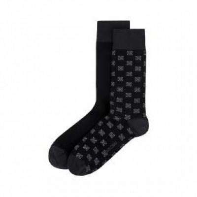 Pack de 2 paires de chaussettes HOM Dominique 402199