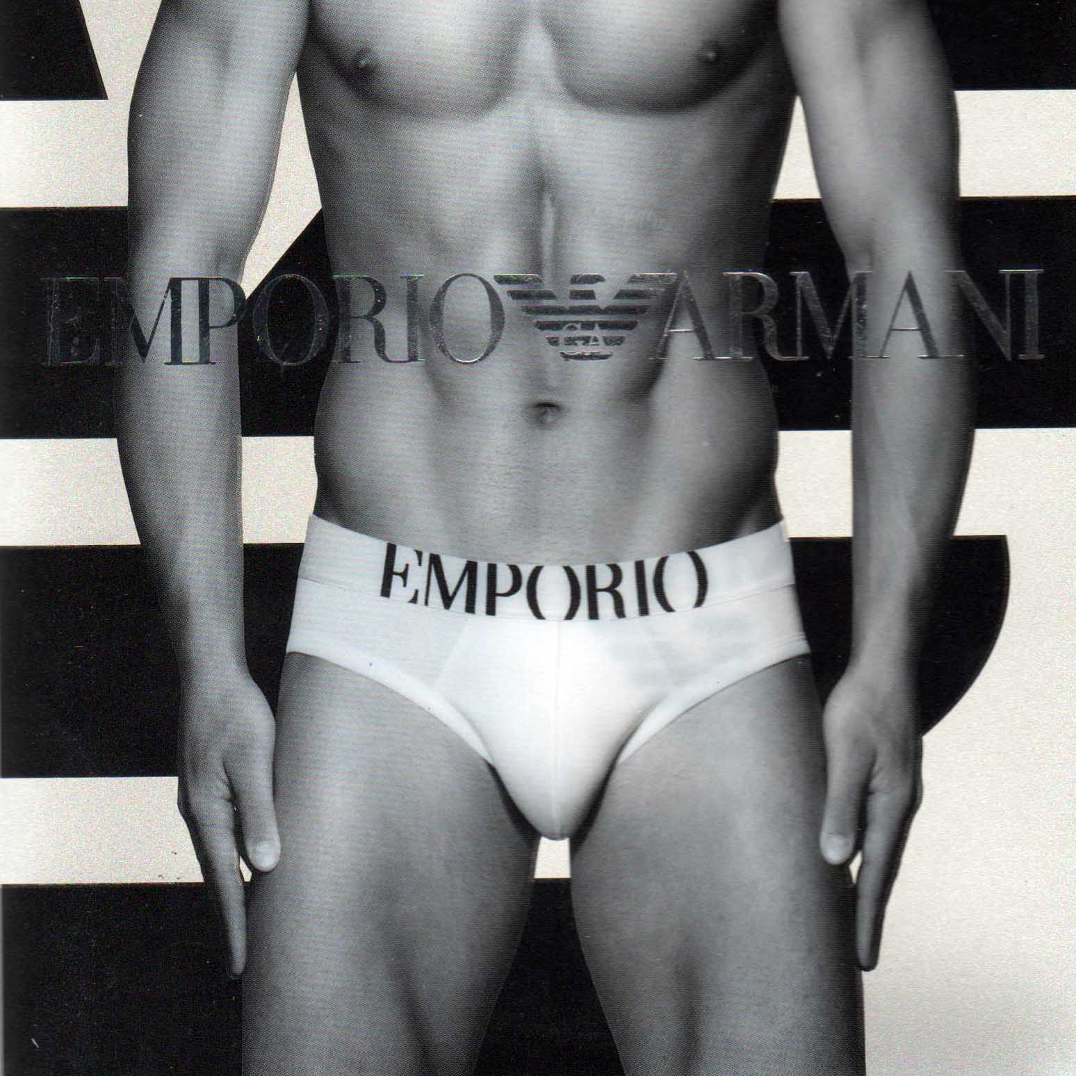 Hip Brief Emporio Armani 110814 C725